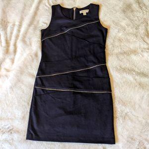 Michael Kors Black Zipper Dress Size 4